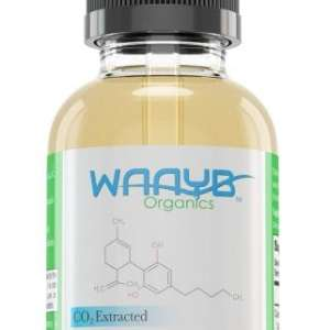 All Natural WAAYB Organics 600mg Flavorless Hemp Extract Oil