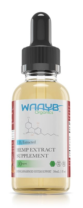 WAAYB Organics Cinnamon Hemp Extract Oil
