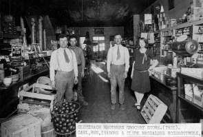 Interior View of the Glotzbach Store, Paxico, Kansas