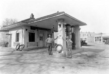 White Eagle Gas Station, Alma, Kansas