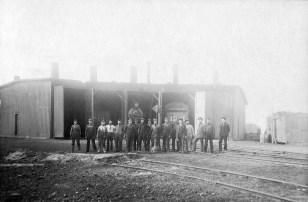 Chicago, Rock Island & Pacific Railway Roundhouse, McFarland, Kansas
