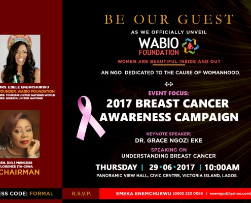 W.A.B.I.O Foundation Official Launch