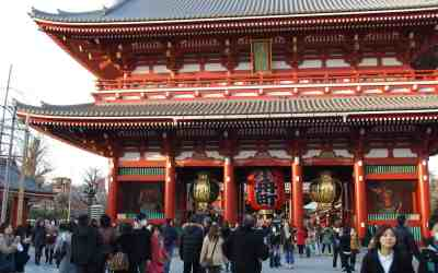 Return to Sensoji
