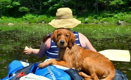 First time on a canoe trip
