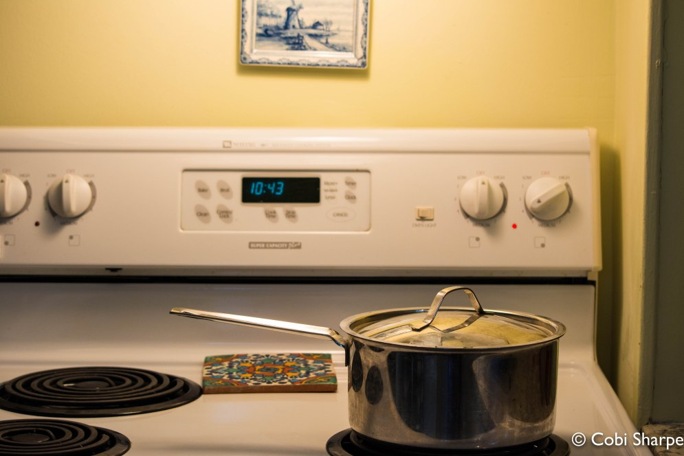 Bring to a boil and then simmer for an hour