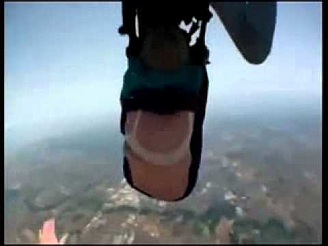 Skydiving Goes Wrong 80 Year Old Granny Falls Out Of Harness VIDEO