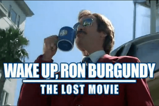 Image result for wake up ron burgundy