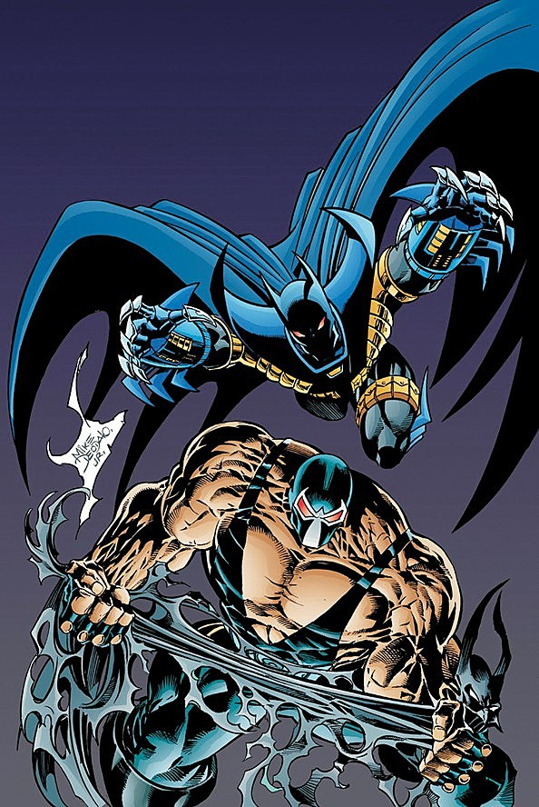 Knightfall Graphic Novels