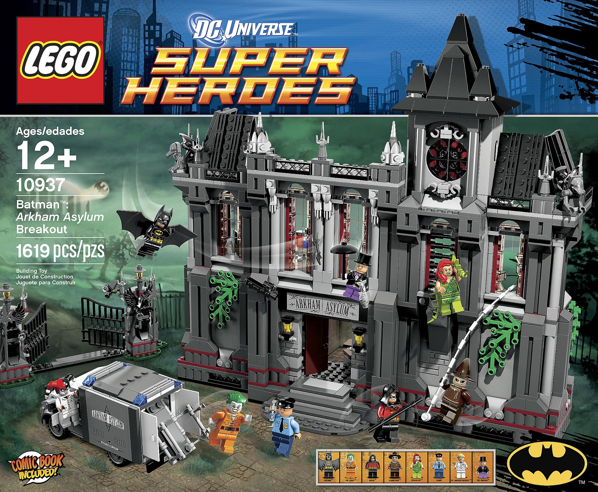 Massive New Lego Arkham Asylum Set Announced