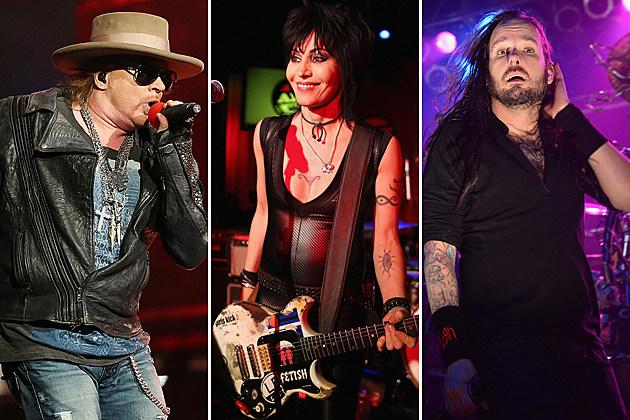 Guns N Roses Joan Jett Korn