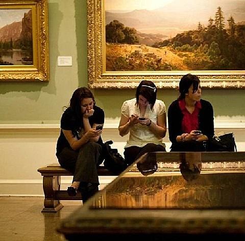 Enjoying a Museum