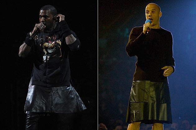 Kanye West Vin Diesel