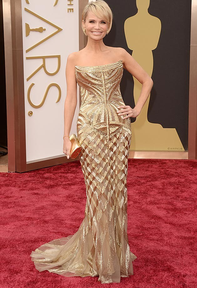 Kristin Chenoweth Cavalli 2014 Oscars