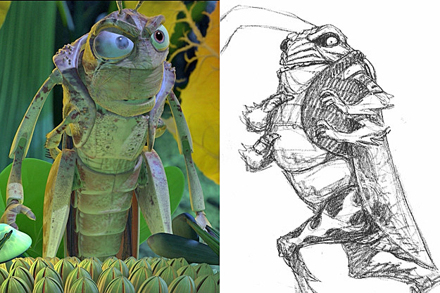 'A Bug's Life' early concept art