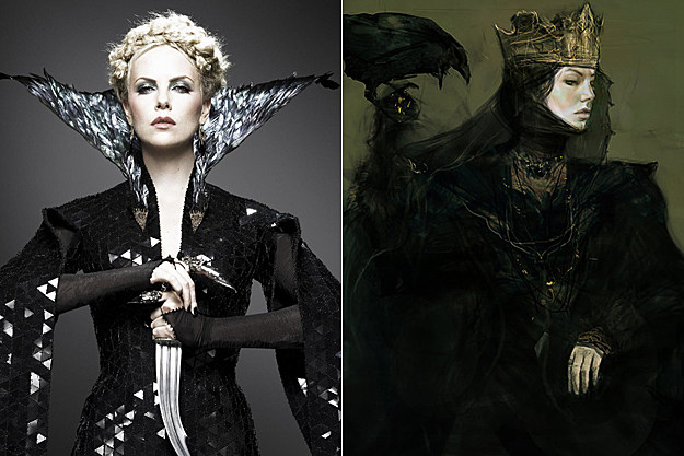 'Snow White and the Huntsman' early concept art