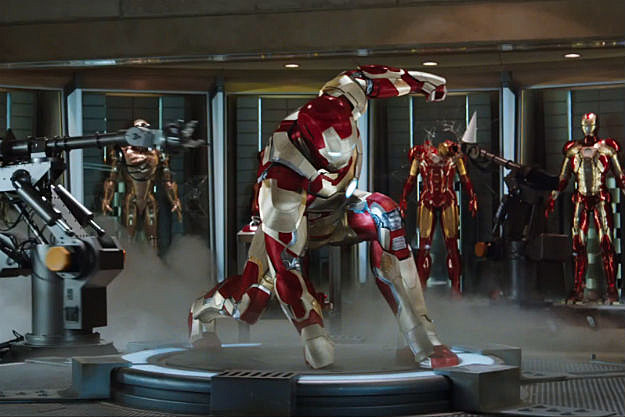 Iron Man 3, fools you into thinking this will be an all out thundering free for all battle of mystic rings vs science.