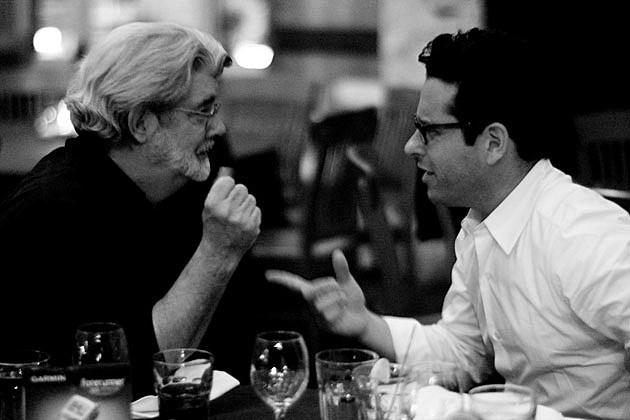 JJ Abrams Star Wars George Lucas