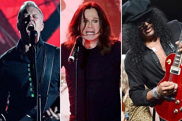 Metallica, Ozzy, and Slash