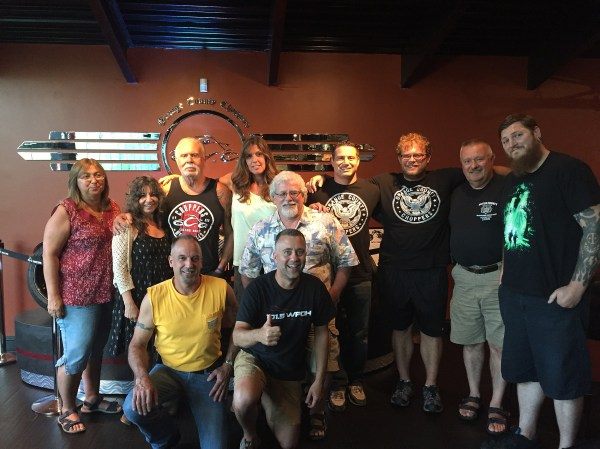 Paul Sr And Mikey Throw Private Orange County Choppers Party