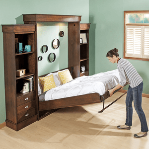 vertical mount frameless murphy bed hardware