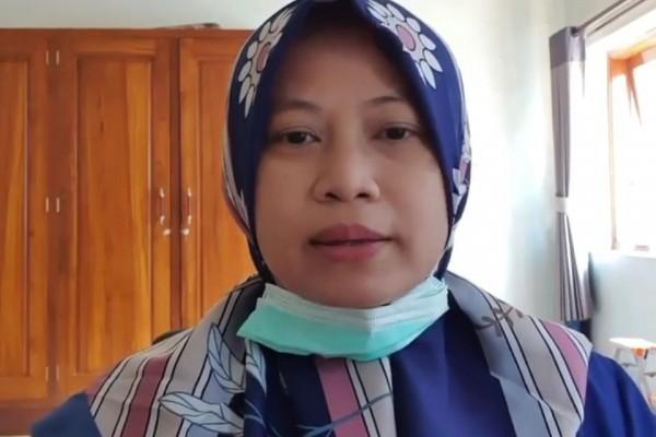 Wiwin Isnawati Istri Wakil Bupati Jombang dan juga Ketua Tim Penggerak PKK.(wacanannews.co.id/tyo)