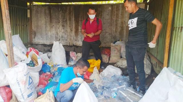 pengolahan sampah di ende