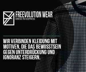 freevolution wear wachaufmenschheit 10% spenden