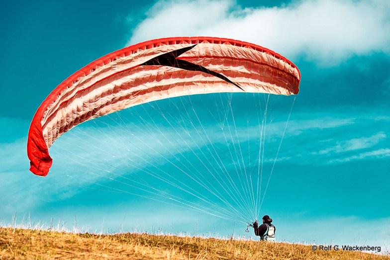 Paraglider, Foto/Copyright: Rolf G. Wackenberg