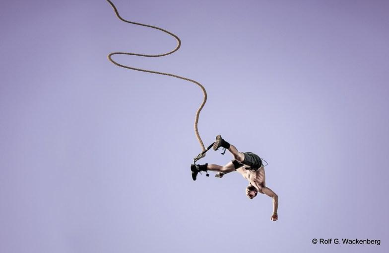 Bungee Jumping, Foto/Copyright: Rolf G. Wackenberg