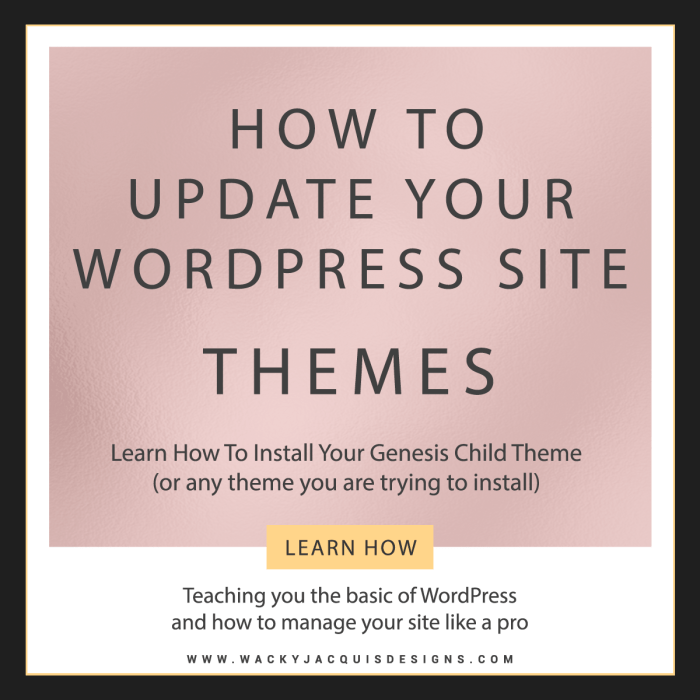 How To Install Your WordPress Theme