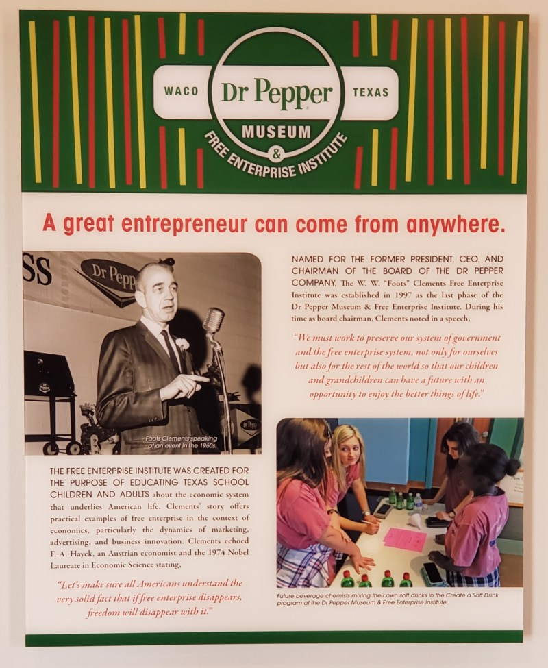 Dr. Pepper Free Enterprise