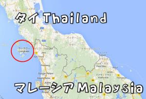 ランカウイ島 地図