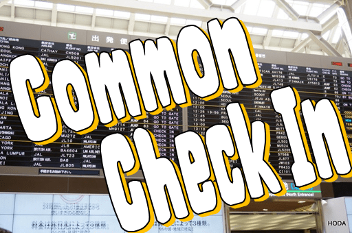 common check in