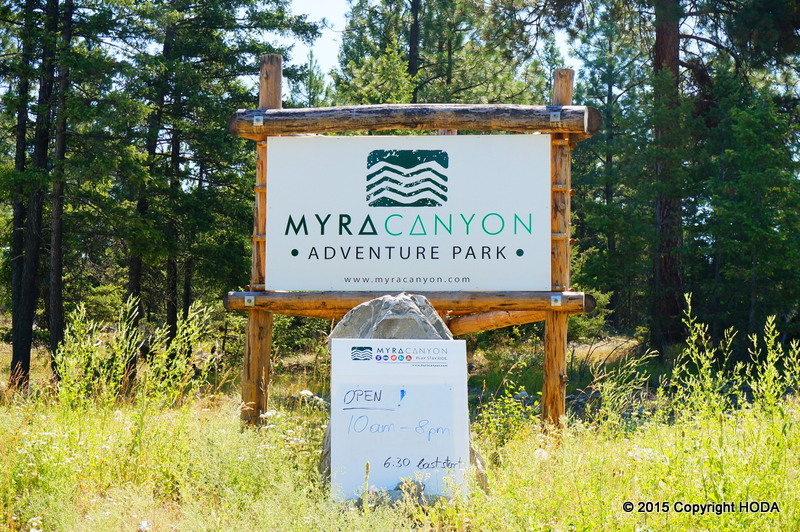 Myra Canyon