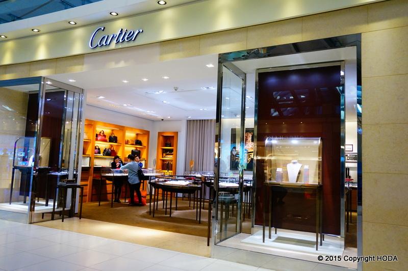 スワンナプーム国際空港 免税店 Cartier