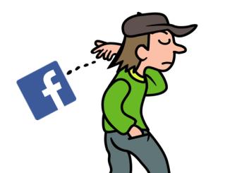 facebook やめる