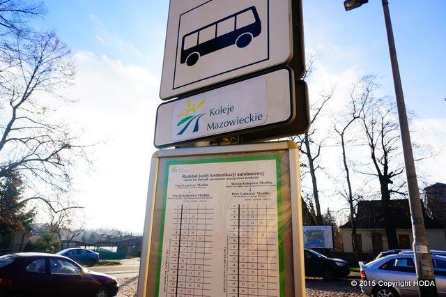 modlin空港 バス
