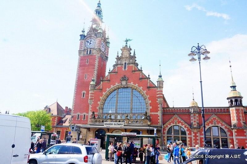 グダニスク 駅 電車
