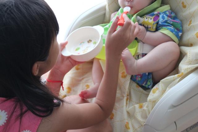 下痢の時の食べ物は?赤ちゃんの下痢の症状と下痢時の食べ物編
