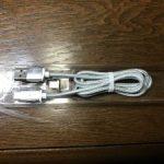 iphone 7plus用にマグネットタイプのケーブルを買ってみた