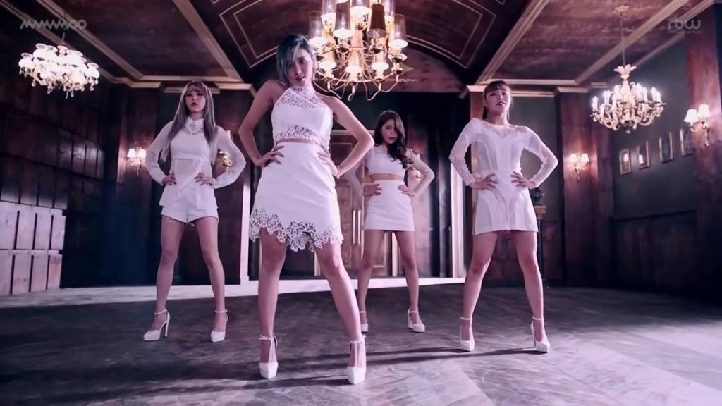 韓国女性グループのMAMAMOOが話題