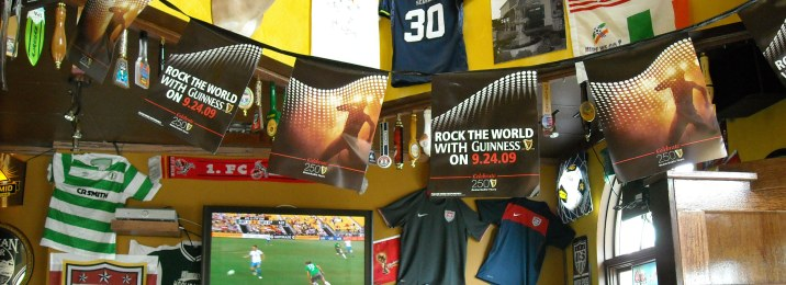 Soccer fan's welcome at Waddell's Pub & Grill