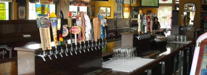 More and more beer taps