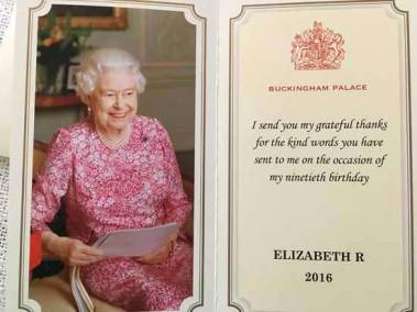 Brief an die Queen