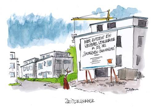 Karikatur von Thomas Plaßmann