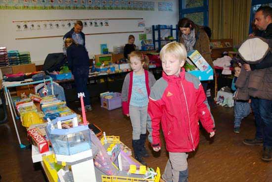 Flohmarkt an der Heckerschule