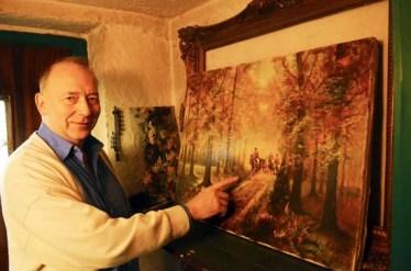 Ulrich Schütter ist stolz auf die Werke seines Vaters Franz.