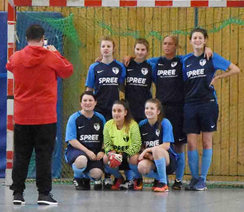 Die Handball-Damen vom SCWH