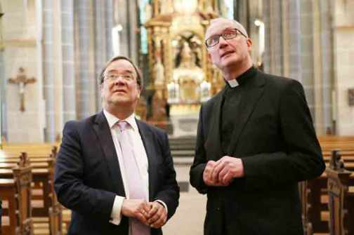 Ministerpräsident Armin Laschet zu Besuch.