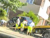 Unfall-vor-Lidl